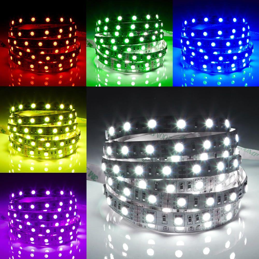 Biard Strisce LED 5 Metri Multicolore RGB Rosso Verde e Blu