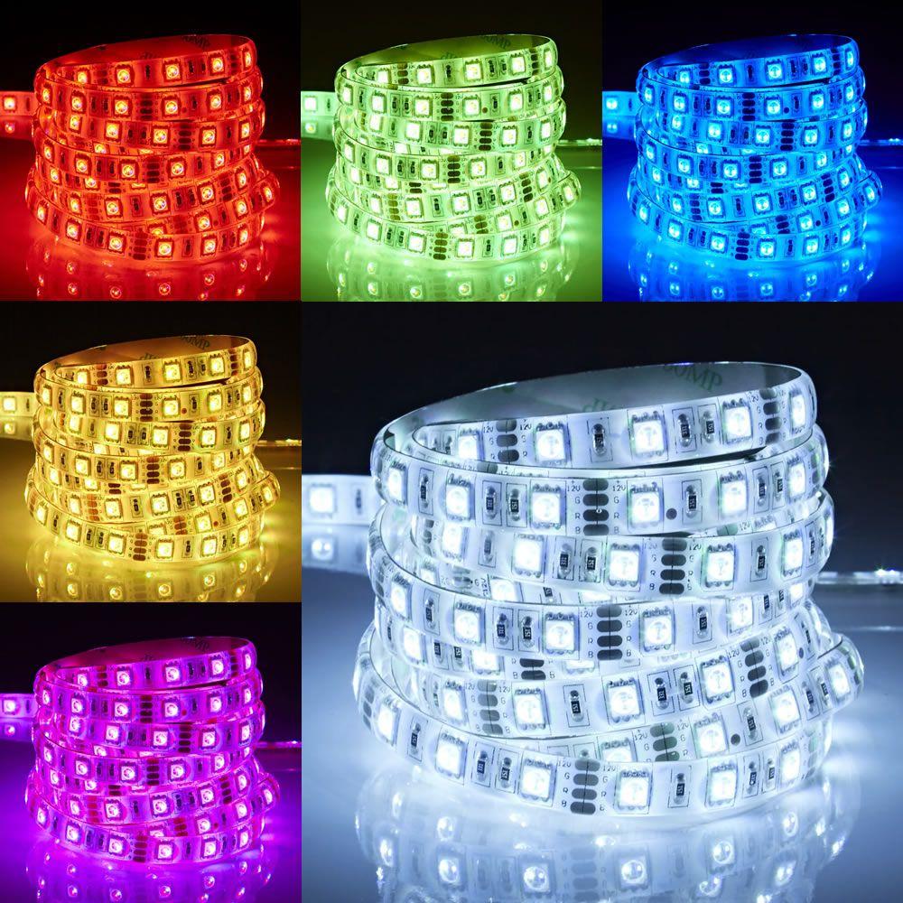Biard Strisce LED 5 Metri RGB Rosso Verde e Blu Ultra Brillante IP65 - Resistente all'acqua