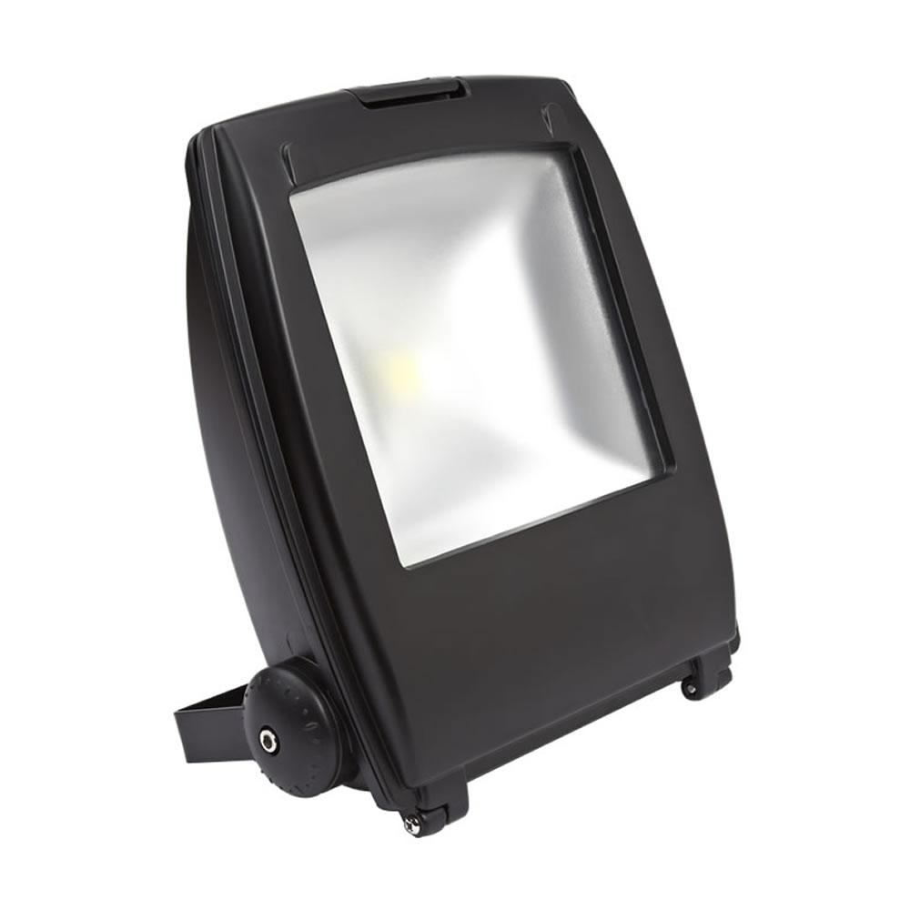 Faro Proiettore LED 50W Bianco Caldo o Freddo con Struttura Nera