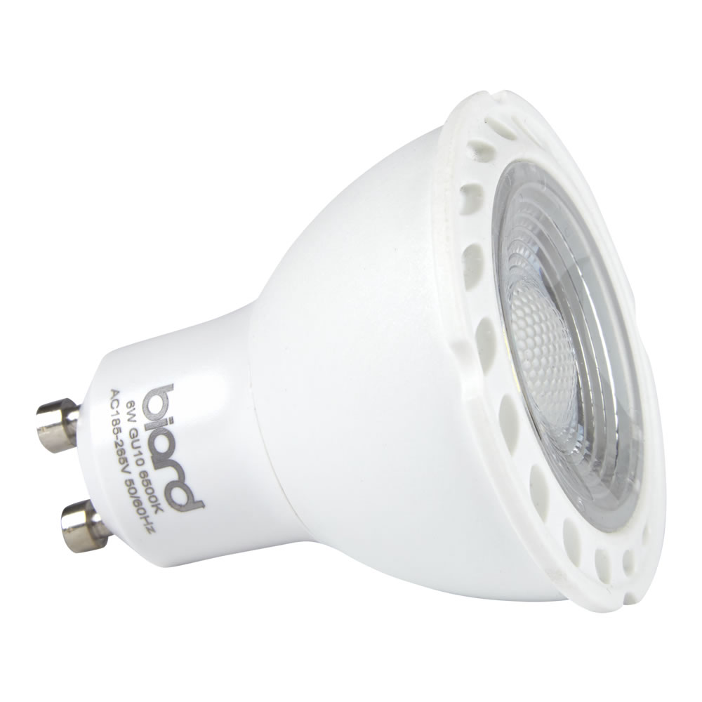 Faretto Spot LED GU10 da Soffitto 6W Equivalente a 50W