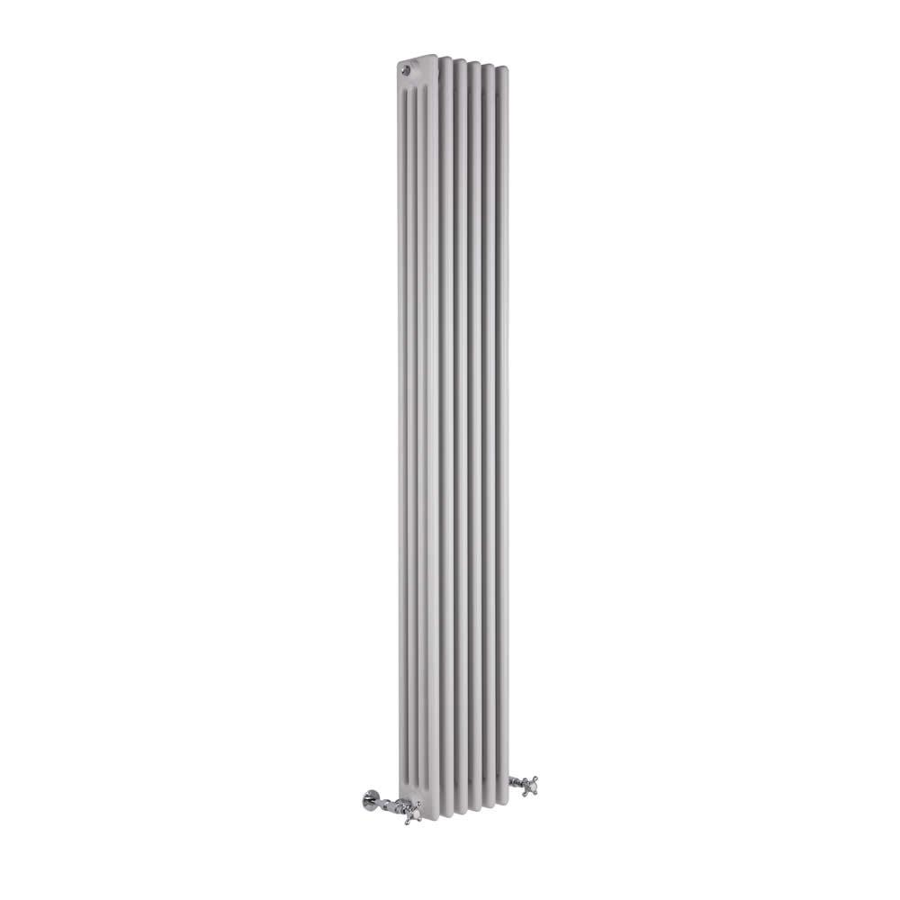 Radiatore di Design Verticale a 4 Colonne Tradizionale - Bianco - 1800mm x 270mm x 133mm - 1615 Watt - Regent