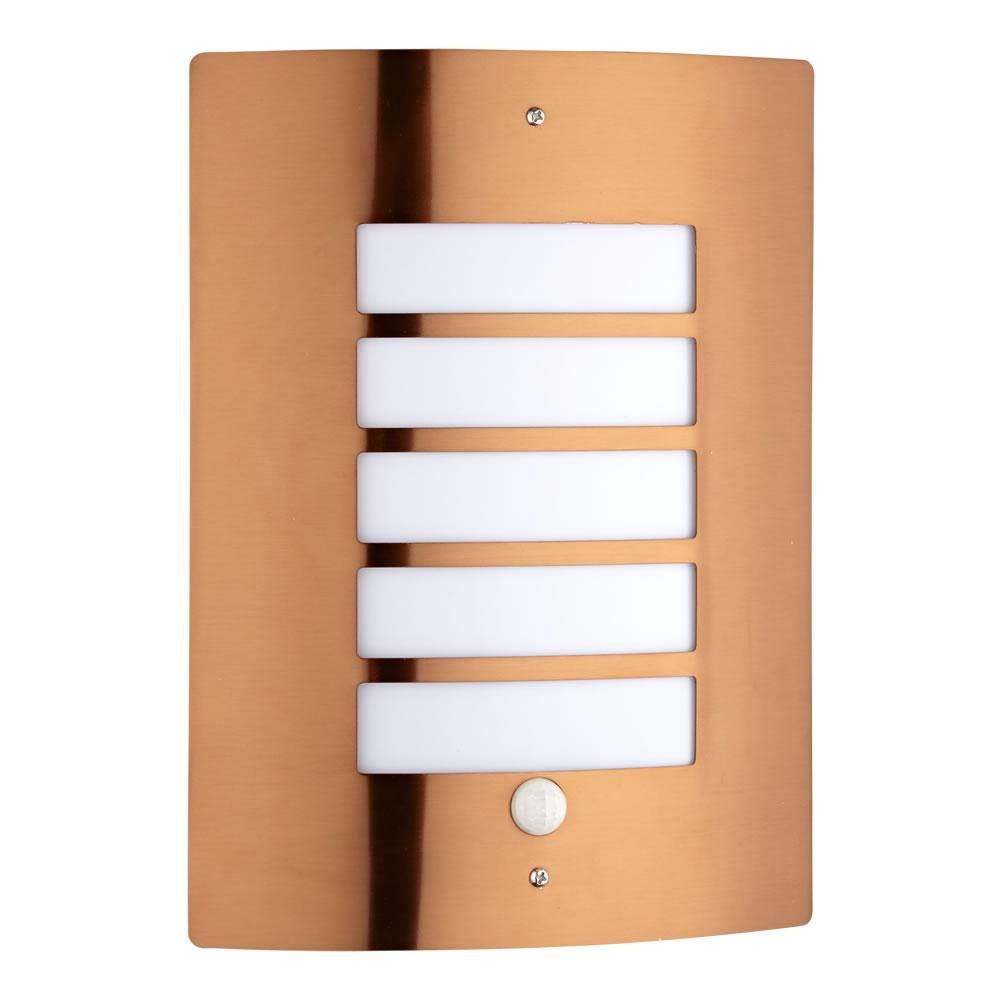 Applique da Esterno Bidirezionale Colore Rame con Sensore - Orleans
