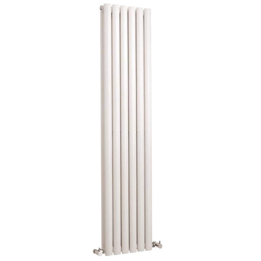 Radiatore Doppio di Design Verticale - Acciaio - Revive Bianco - 1.512 Watt - 1500mm x 354mm