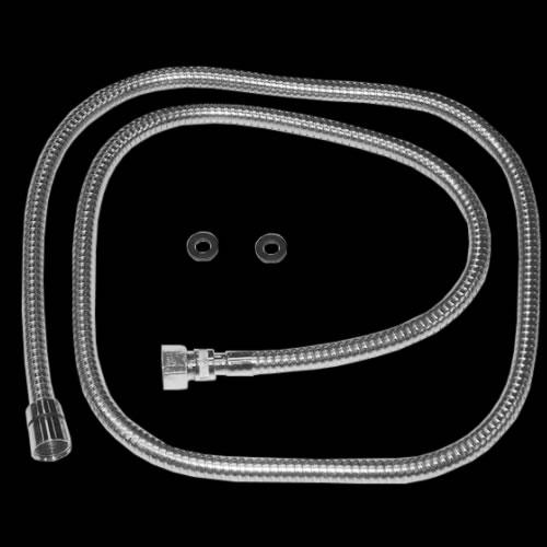 Flessibile Doccia di Ricambio per Batterie Bordo Vasca a 4 Fori