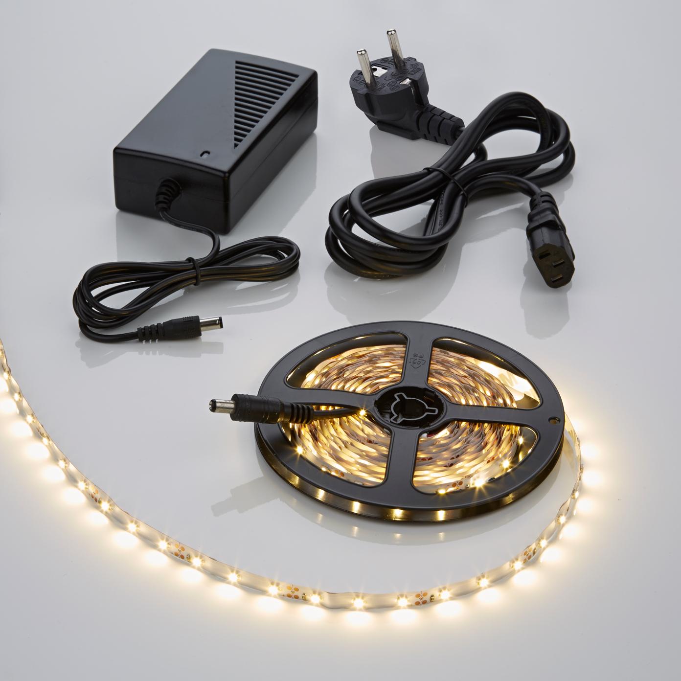 Strisce LED 3528 5 Metri Bianco Caldo
