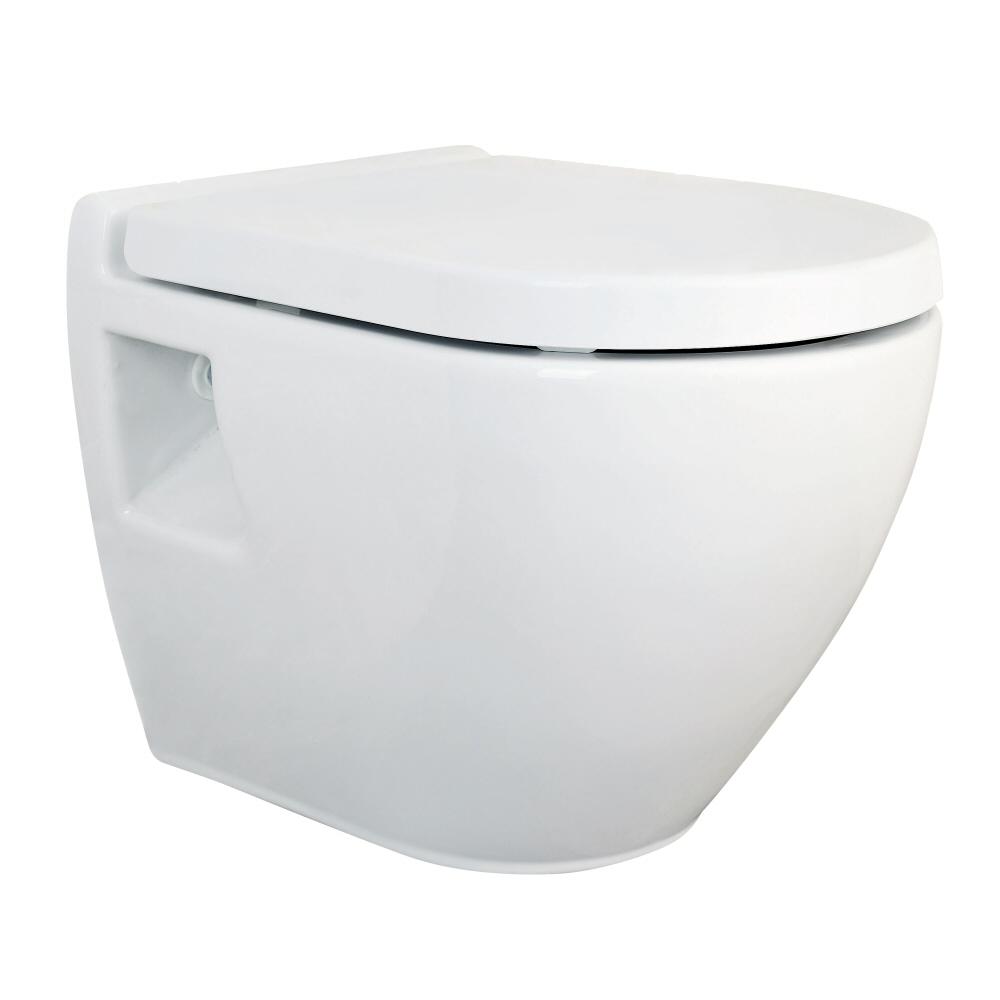 Vaso Sospeso WC in Ceramica con Sedile Copri WC