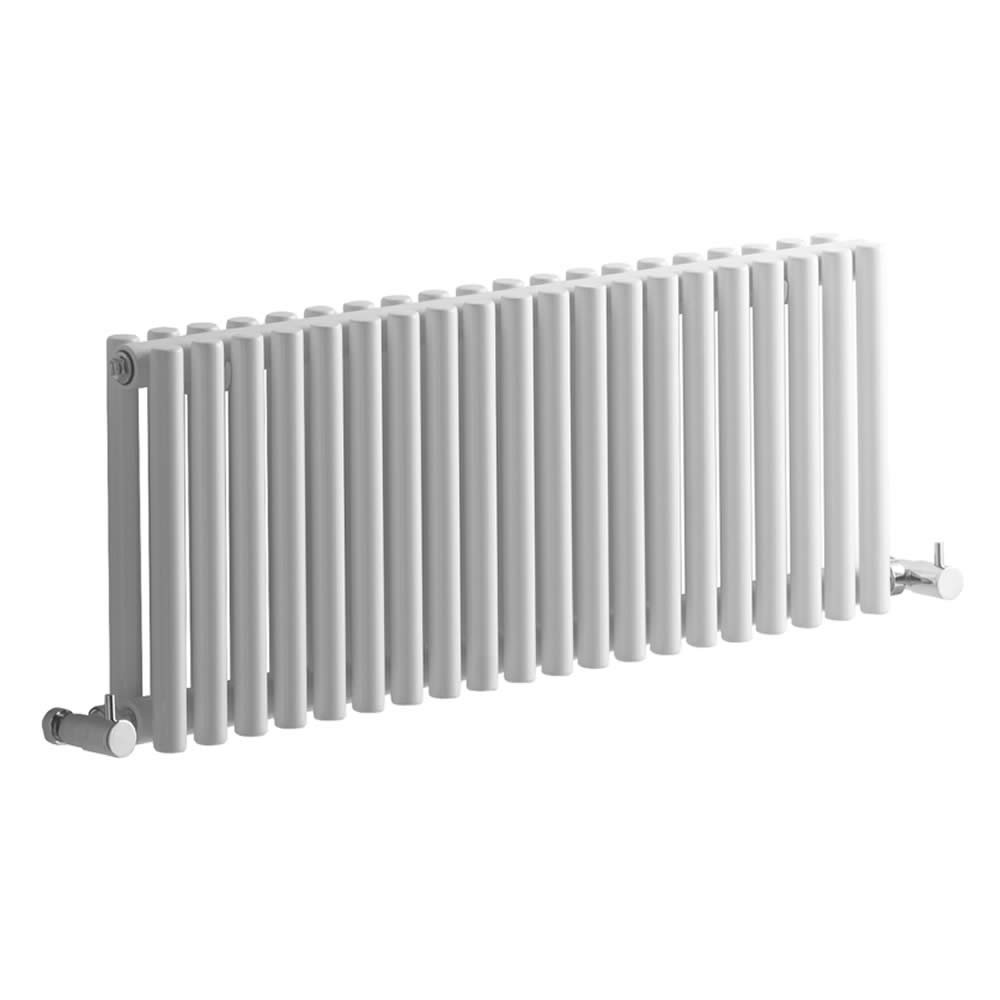 Radiatore di Design Orizzontale - Bianco - 300mm x 760mm x 78mm - 620 Watt - Revive
