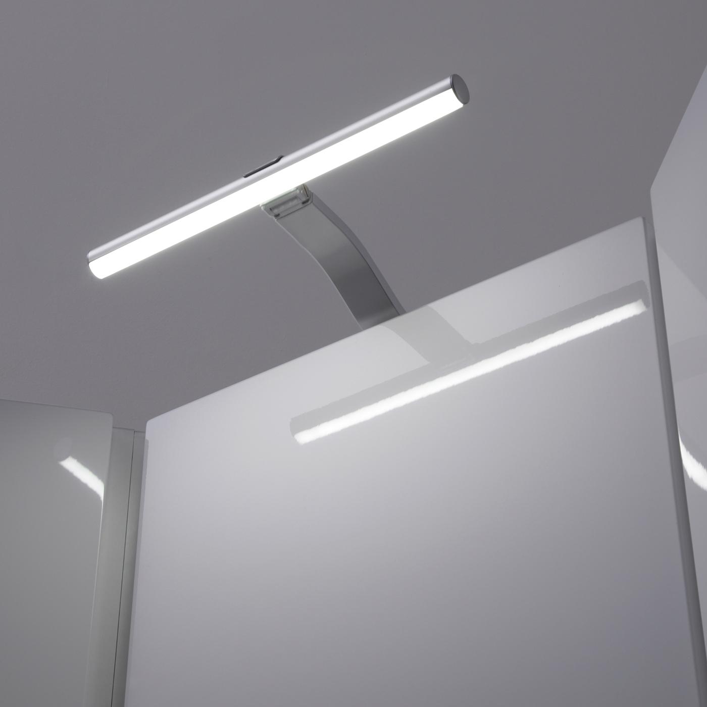 Illuminazione LED Sopra Armadietto con Lampada Circolare 3,3 W e Trasformatore