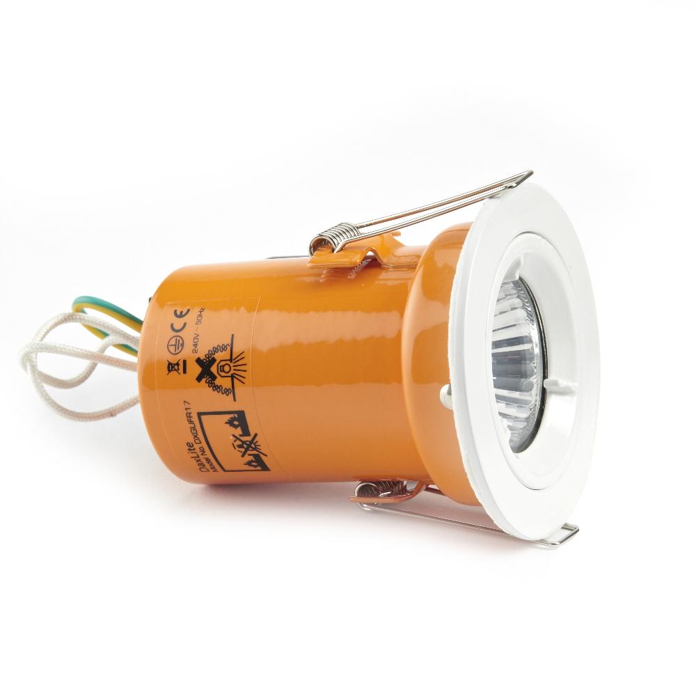 Faretto LED Downlight GU10 240V con Struttura di Colore Bianco