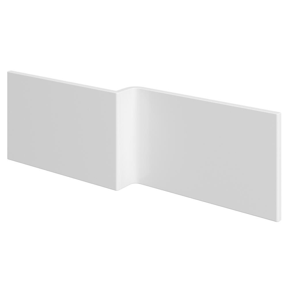 Pannello Vasca Frontale Asimmetrico Bianco 170cm