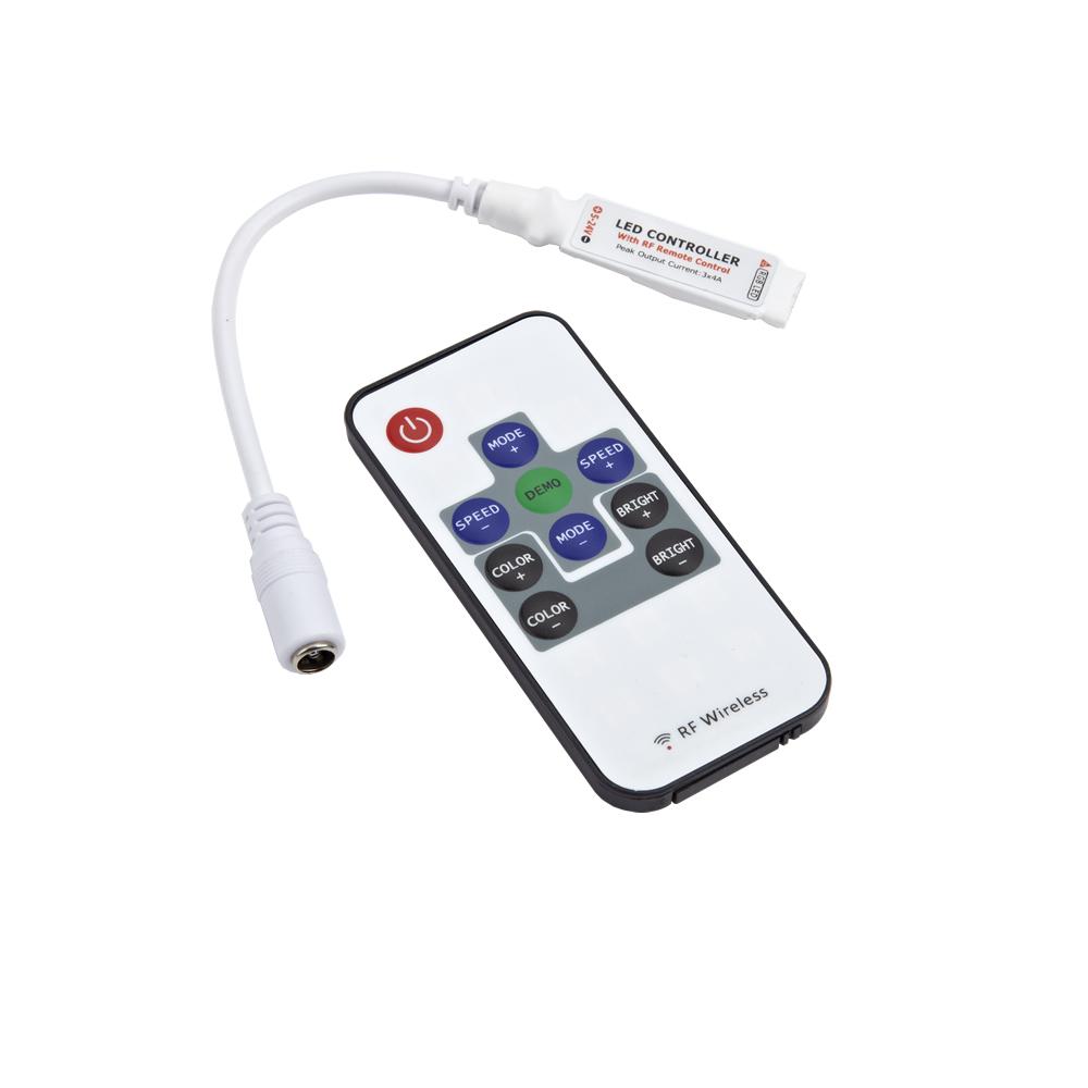 Telecomando per strisce LED RGB 3528 e 5050