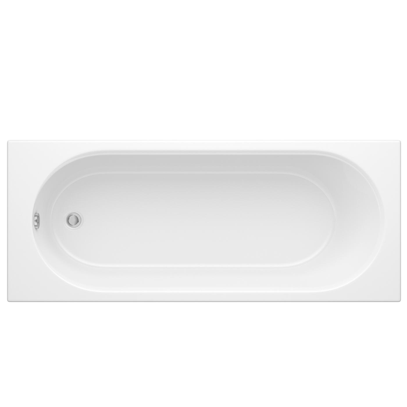 Vasca da Bagno Rettangolare in Acrilico 1700x700mm senza Pannello Vasca