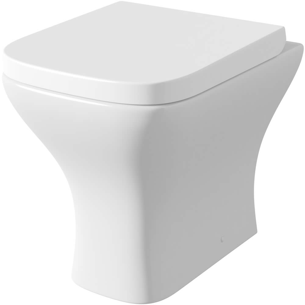 Vaso Bagno WC Moderno con Coprivaso