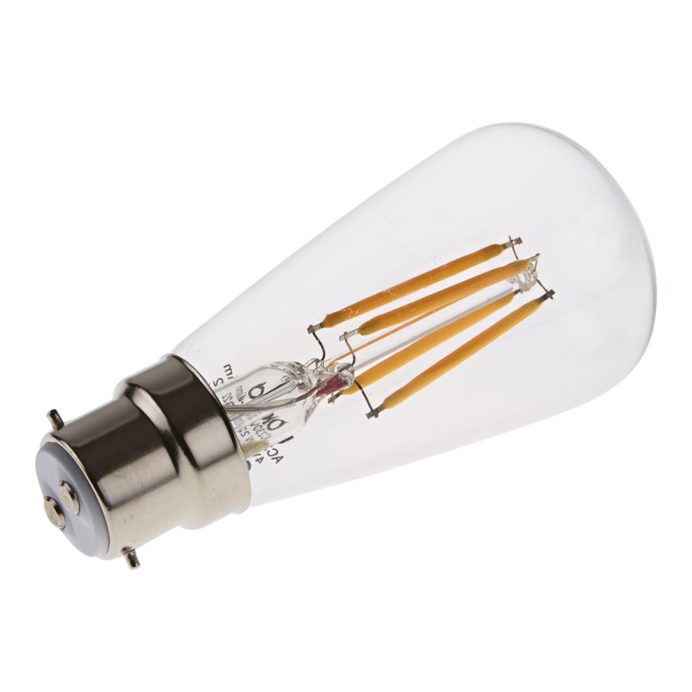 Lampadina a Filamento LED B22 4W