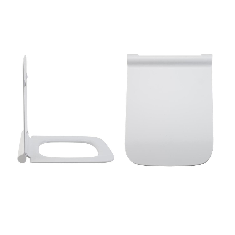Sedile WC con Chiusura Soft Close, Sgancio Rapido e Fissaggio Superiore - Sandford