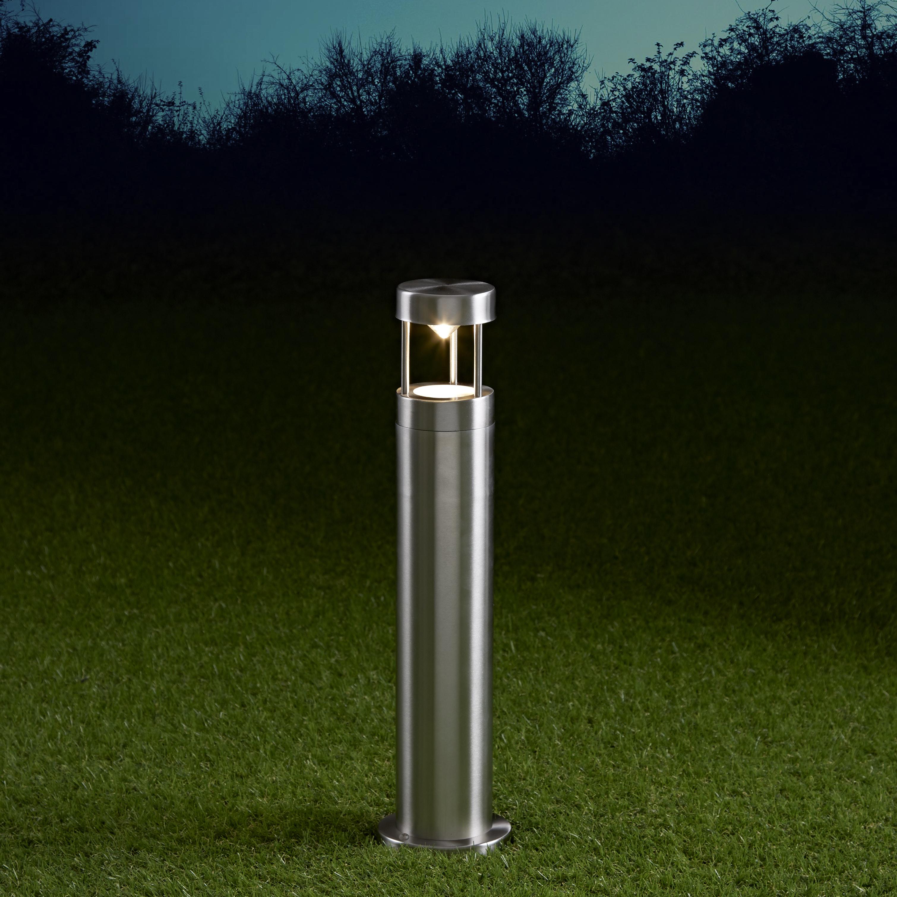 Biard Paletto LED da Esterno 6W in Acciaio Inox 450mm con Lampadina GU10 - Niort