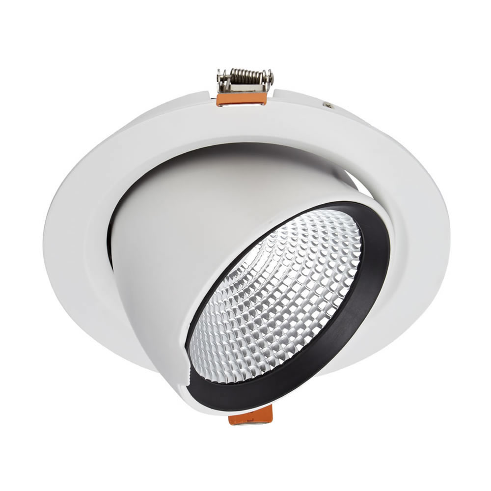 Faretto LED 35W Bianco da Incasso Orientabile