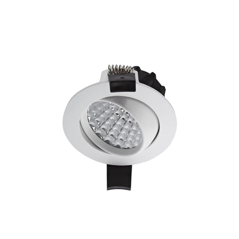 Biard Faretto LED Downlight 7W Bianco da Incasso Orientabile Dimmerabile