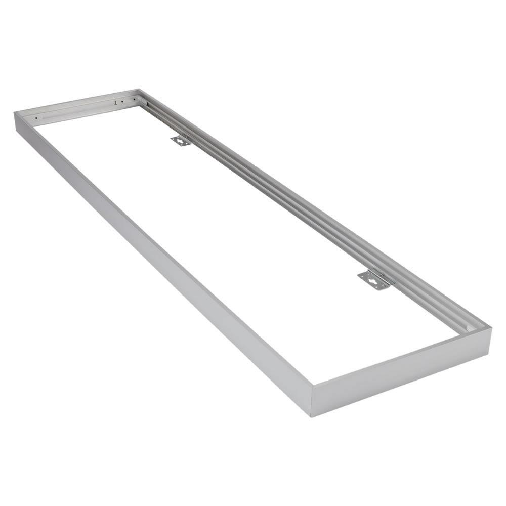 Struttura di Color Argento per Pannelli LED da Soffitto 1200X300mm