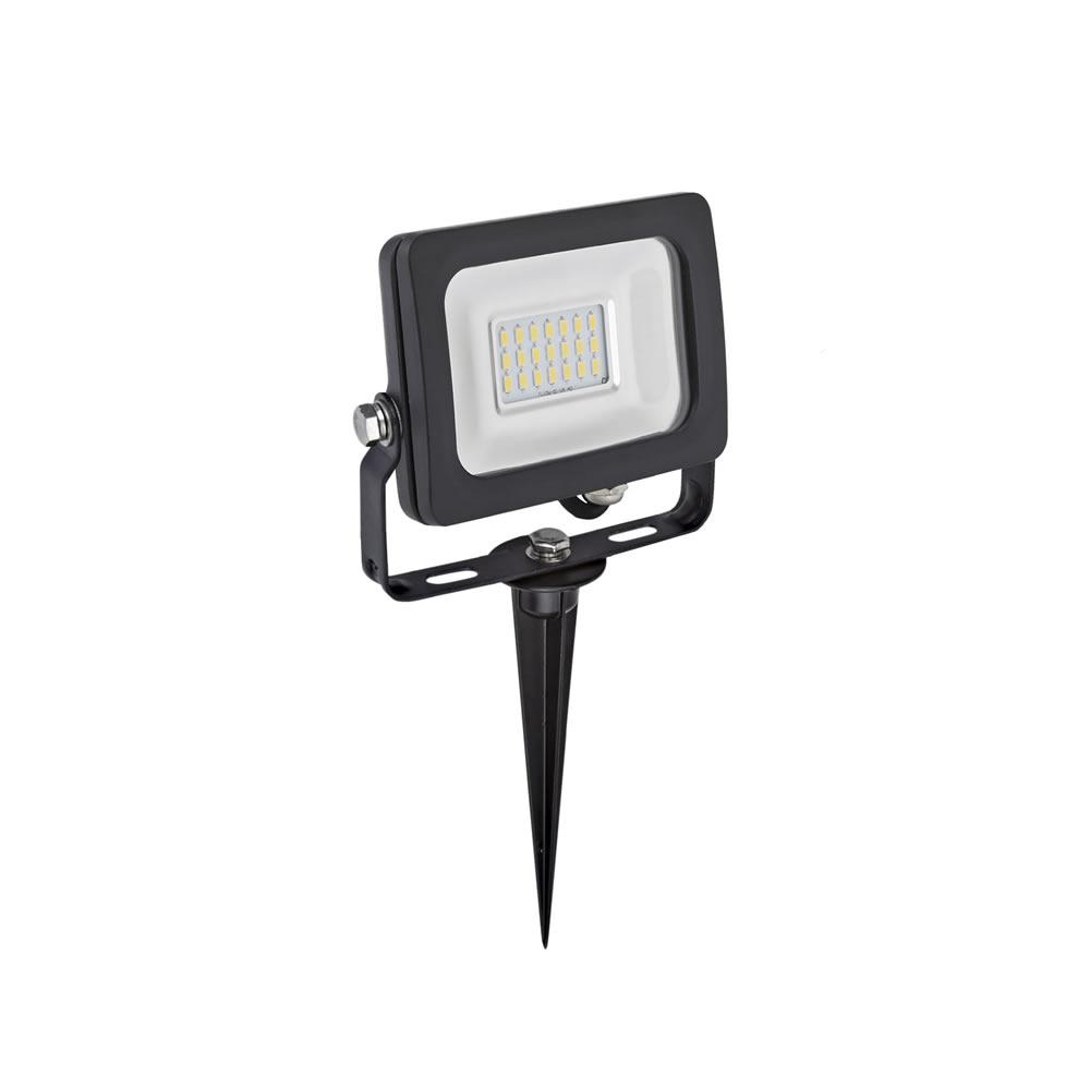 Kit LED per Esterni Completo di Picchetto da Pavimento per Faretto Esterno LED 10 Watt