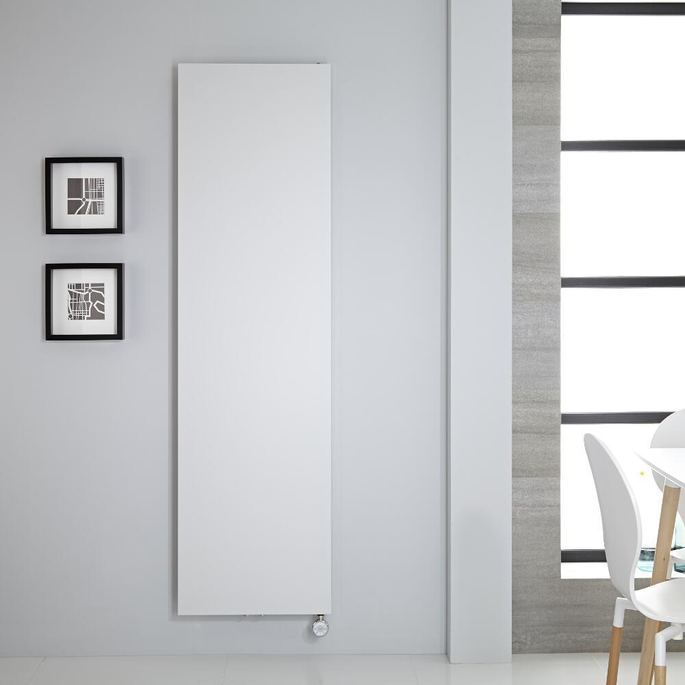 Radiatore di Design Elettrico Verticale - Bianco - 1800mm x 500mm - Arch