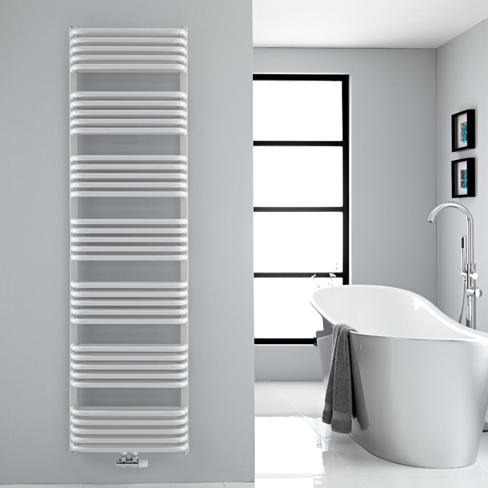 Scaldasalviette - Bianco - 1800mm x 500mm - 1740 Watt - Arch