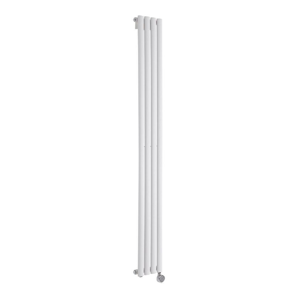 Radiatore di Design Elettrico Verticale - Bianco - 1780mm x 236mm x 56mm  - Elemento Termostatico 600W  - Revive
