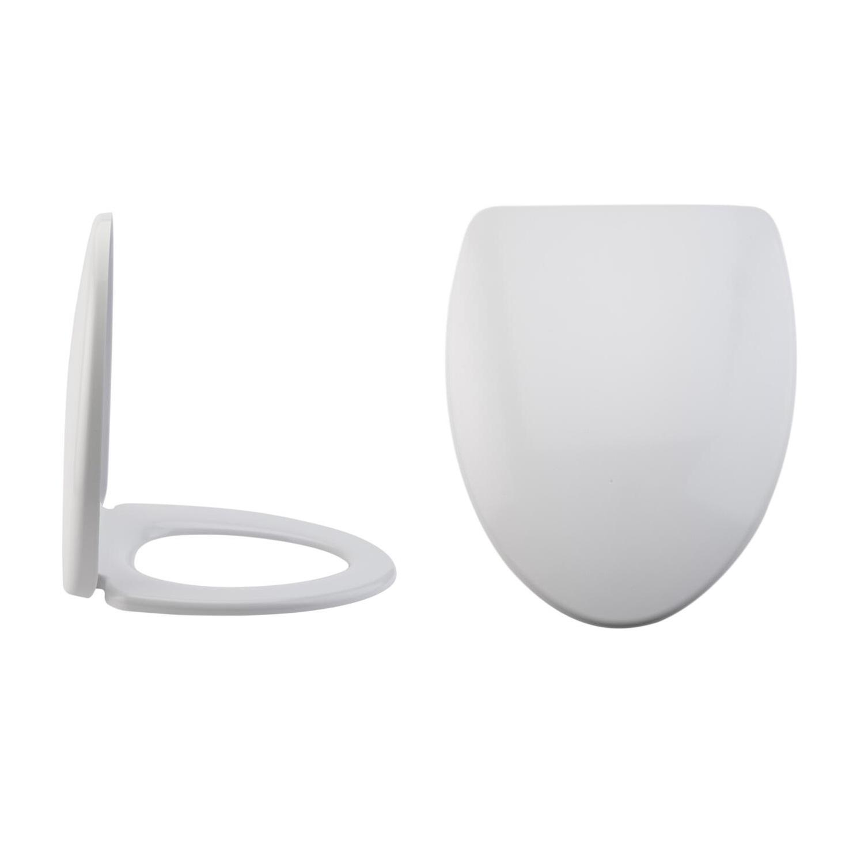 Sedile WC con Chiusura Soft Close con Sgancio Rapido e Fissaggio Superiore - Kenton