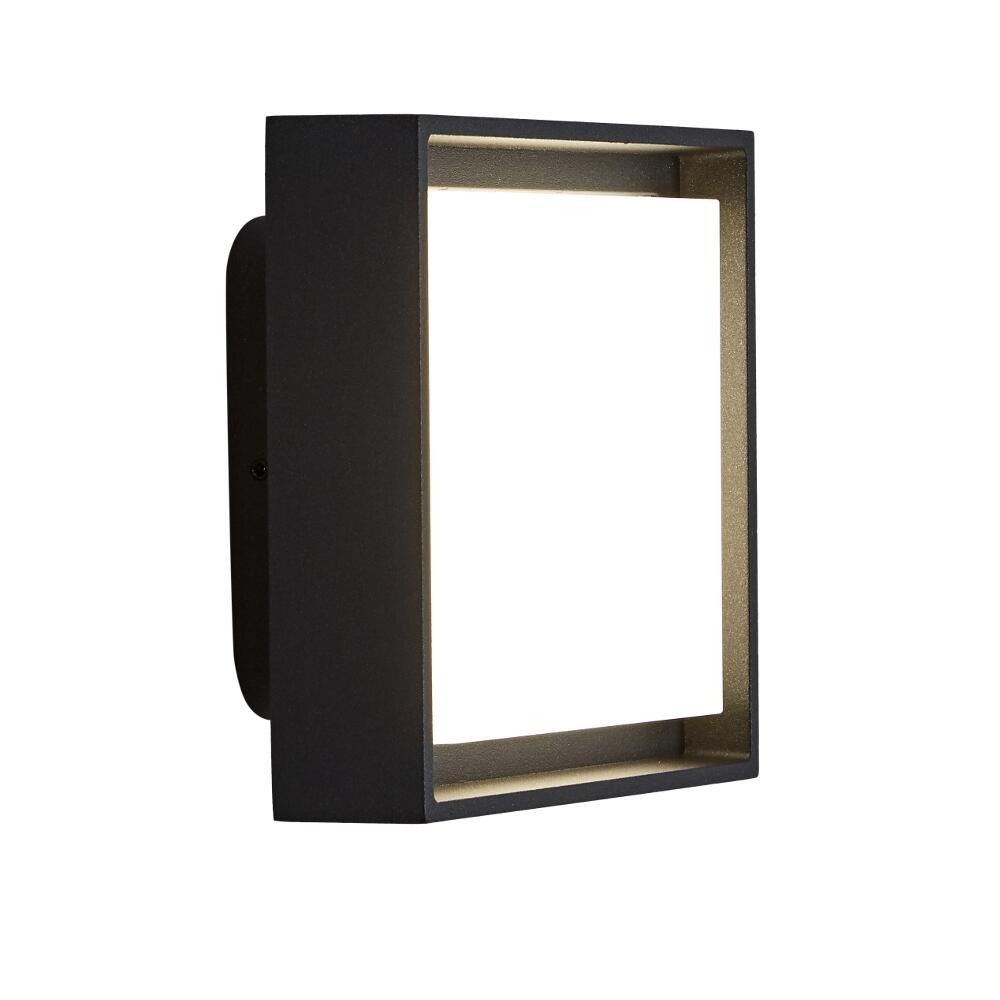 Applique LED Murale da Esterno Disponibile con Finitura Nera o Antracite IP65 - Turin