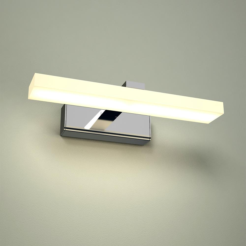 Applique Pensile LED Alluminio Cromato IP44 - Ladoga