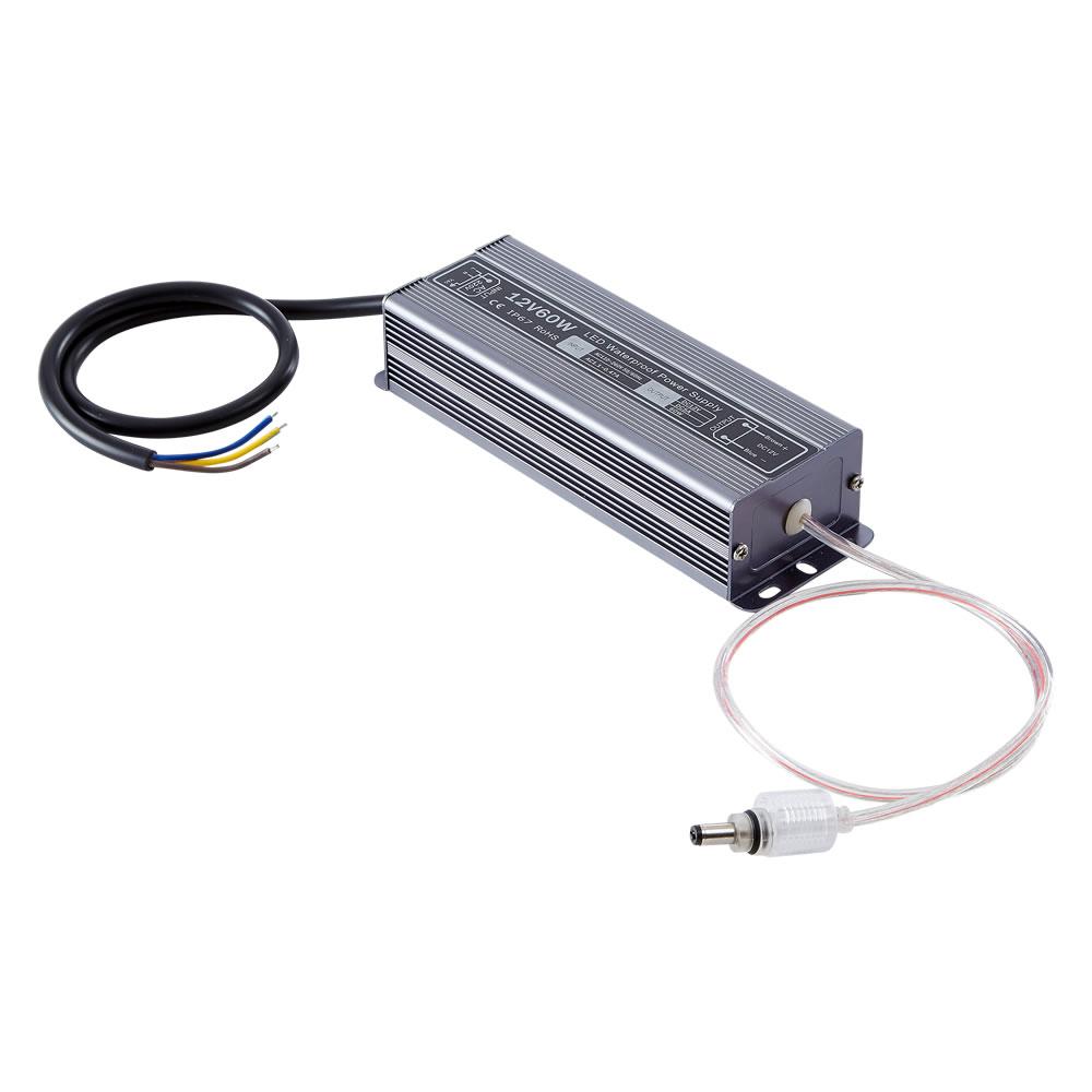 Driver 60W 12VDC IP54 Resistente all'Acqua e alla Polvere