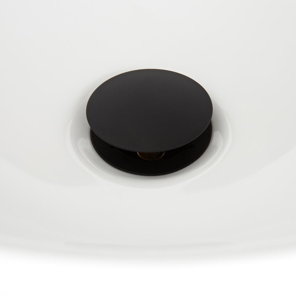 Valvola di Scarico Clic Clac Nera - Nox