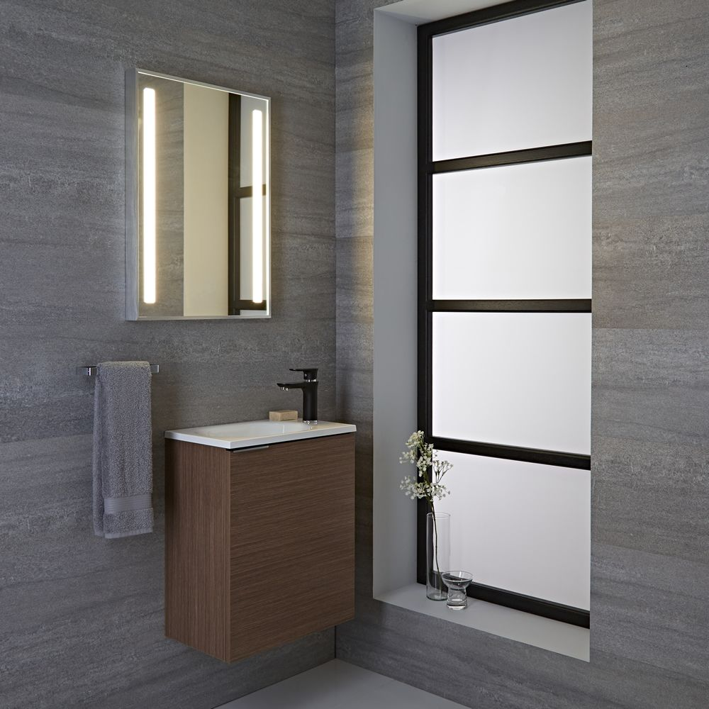 Specchio Bagno Retroilluminato Prezzi.Specchio Led Retroilluminato Per Stanza Da Bagno 700x500mm Oahe