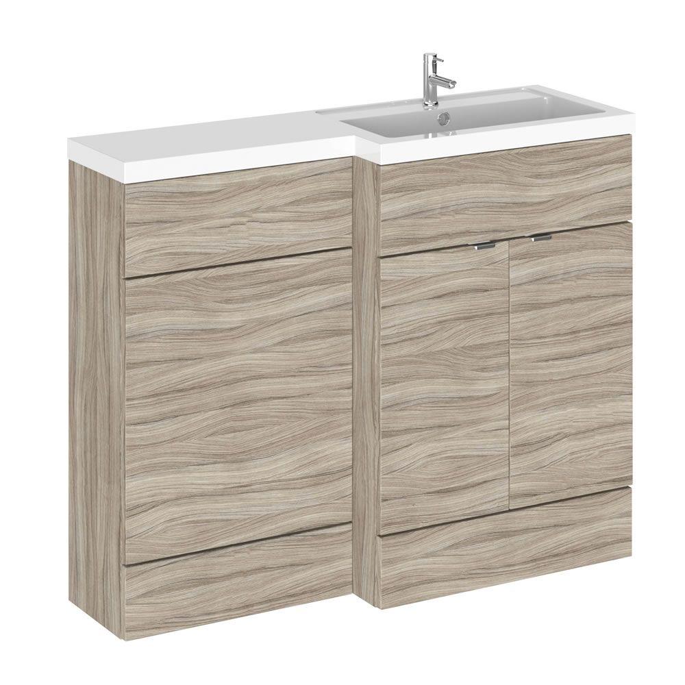 Mobile lavabo con mobiletto per sanitario bagno 1100mm for Gamma sanitarios