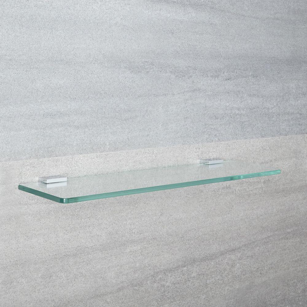 Mensole Sospese In Vetro.Mensola Murale In Vetro Per Stanza Da Bagno