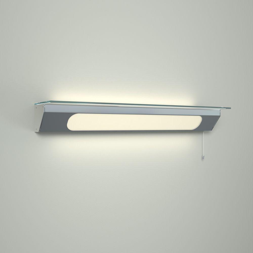 Mensole Di Vetro Con Led.Mensola Con Illuminazione Led Per Stanza Da Bagno Achen