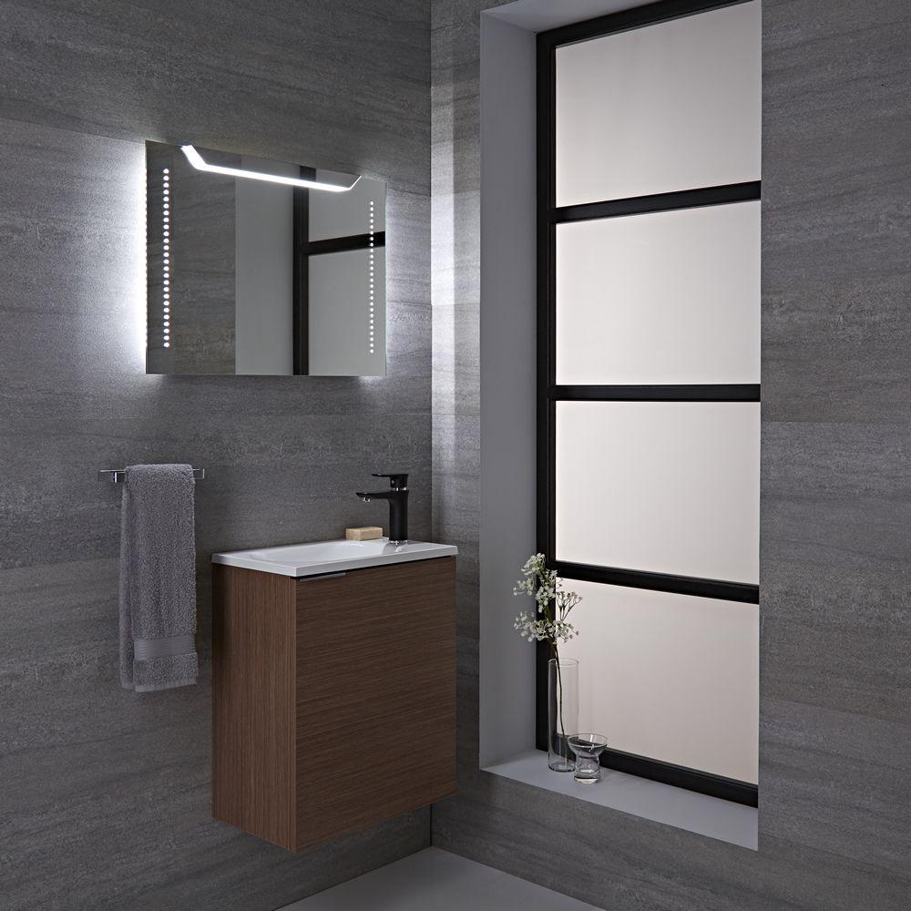 Specchio led retroilluminato per stanza da bagno 500x700mm lomond - Specchio retroilluminato bagno ...