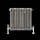 Radiatore di Design Orizzontale a 3 Colonne Tradizionale - Acciaio Dolce  - 600mm x 605mm x 100mm - 950 Watt - Regent