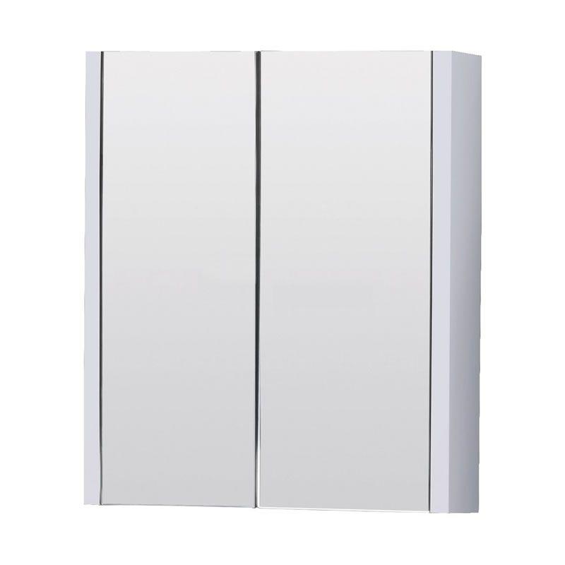 Specchio Bagno Con Ante.Specchiera Bagno Con Contenitore Ante Battenti E 2 Ripiani 650mm