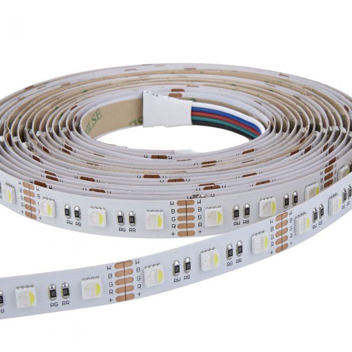 Biard Strisce LED 5 Metri RGB Rosso Verde e Blu Ultra Brillante IP20