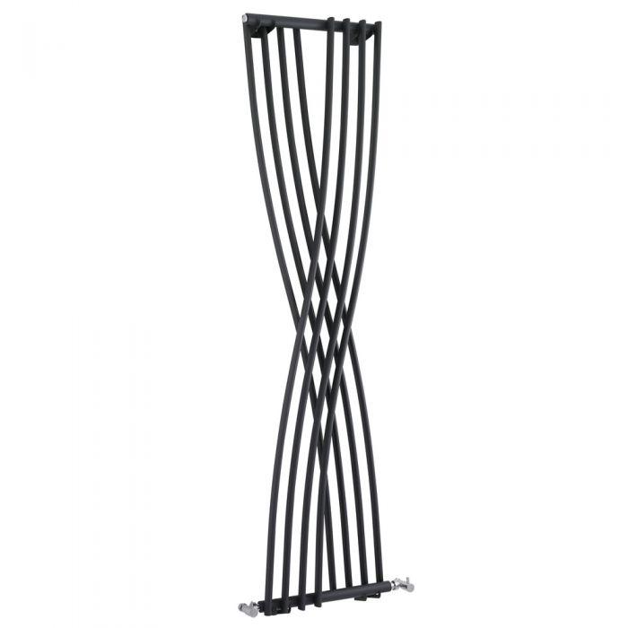 Radiatore di Design Verticale - Acciaio - Antracite - 925 Watt - 1775mm x 450mm - Xcite