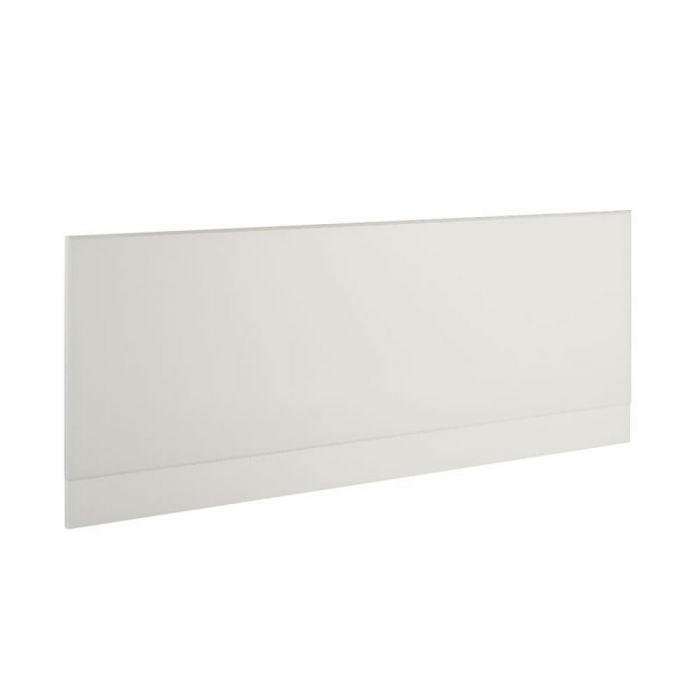 Pannello Vasca Frontale 1600 MDF Bianco Lucido
