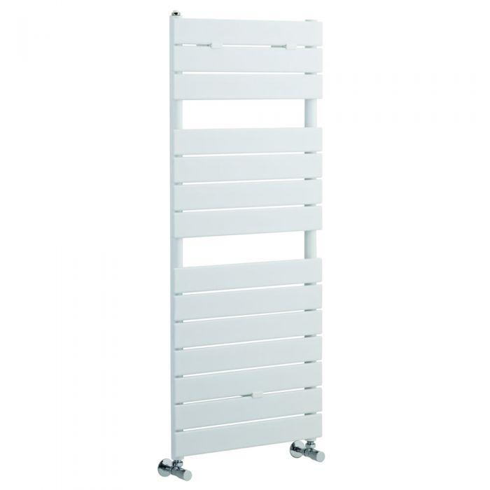 Radiatore Scaldasalviette - Panelli Orizzontali - Acciaio - Bianco - 1213mm x 500 mm - 489 Watt