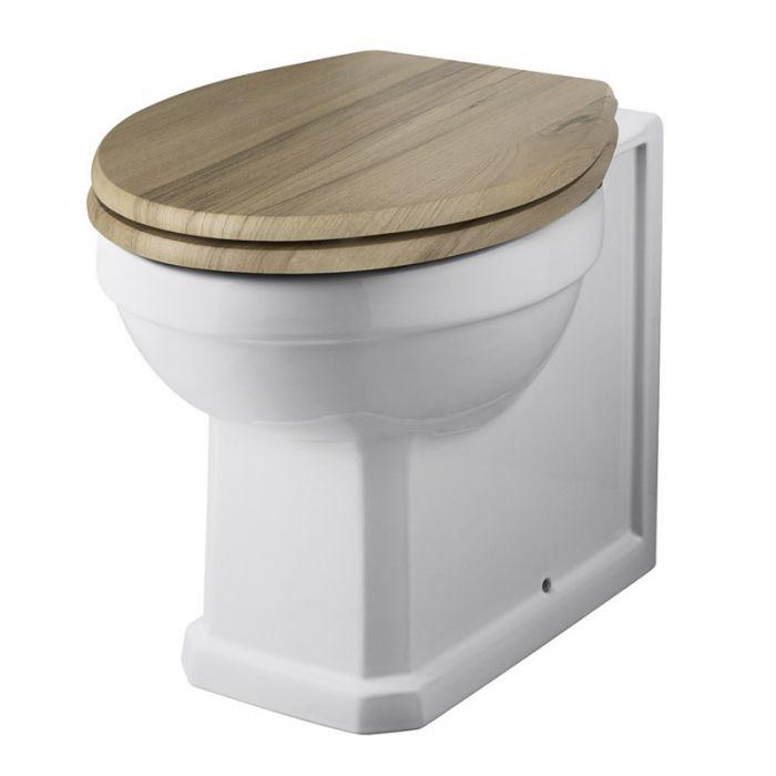 Vaso WC Retro con Scelta di Sedili Copri WC