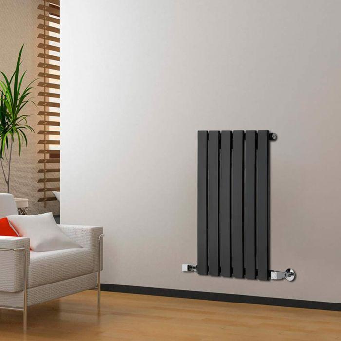 Radiatore di Design Orizzontale  - Nero - 635mm x 420mm x 46mm - 376 Watt - Delta