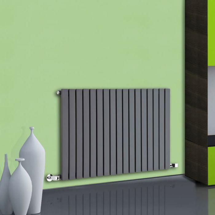 Radiatore di Design Orizzontale - Antracite - 635mm x 1000mm x 54mm - 1022 Watt - Sloane