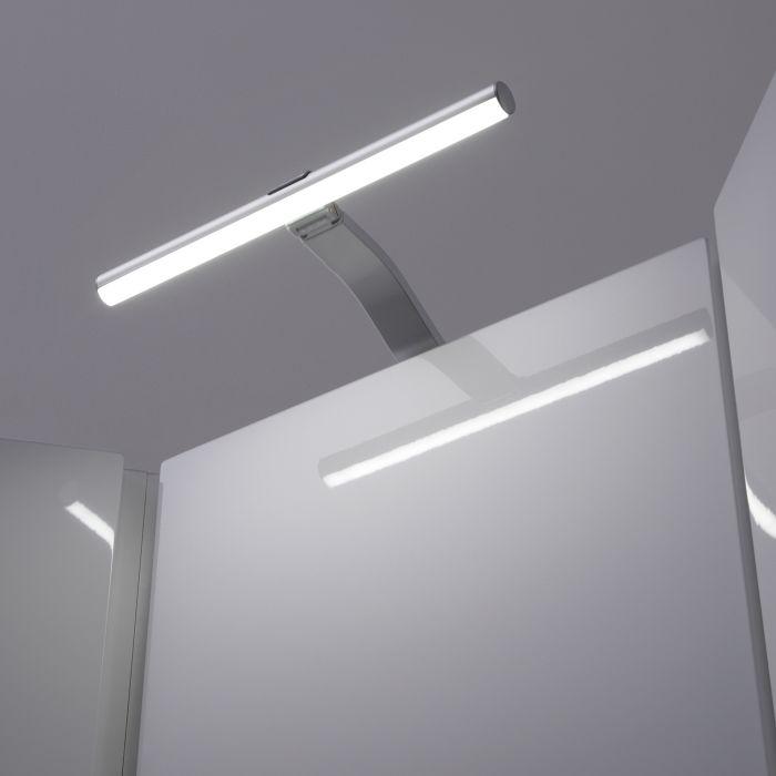 Biard Illuminazione LED Sopra Armadietto con Lampada Circolare 3,5 W e Trasformatore