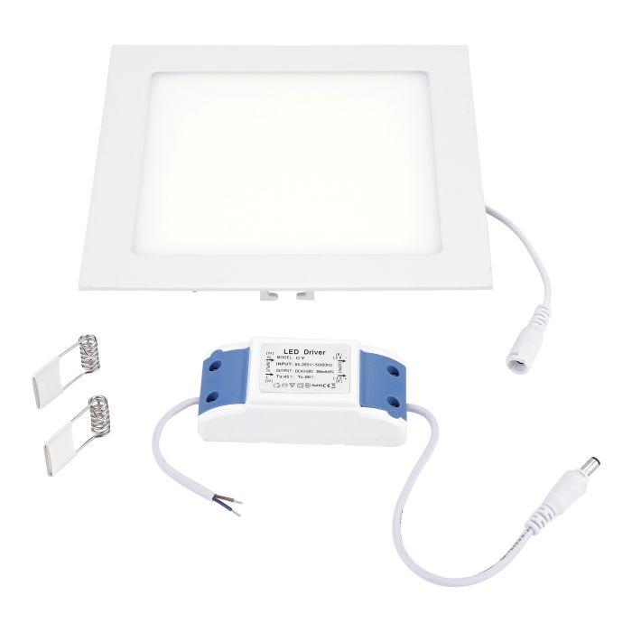 Biard Pannello LED 200 x 200mm 15W Equivalente a 60W