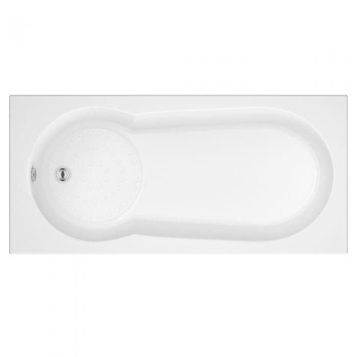 Vasca da Bagno Rettangolare 1700x800mm senza Pannello Vasca