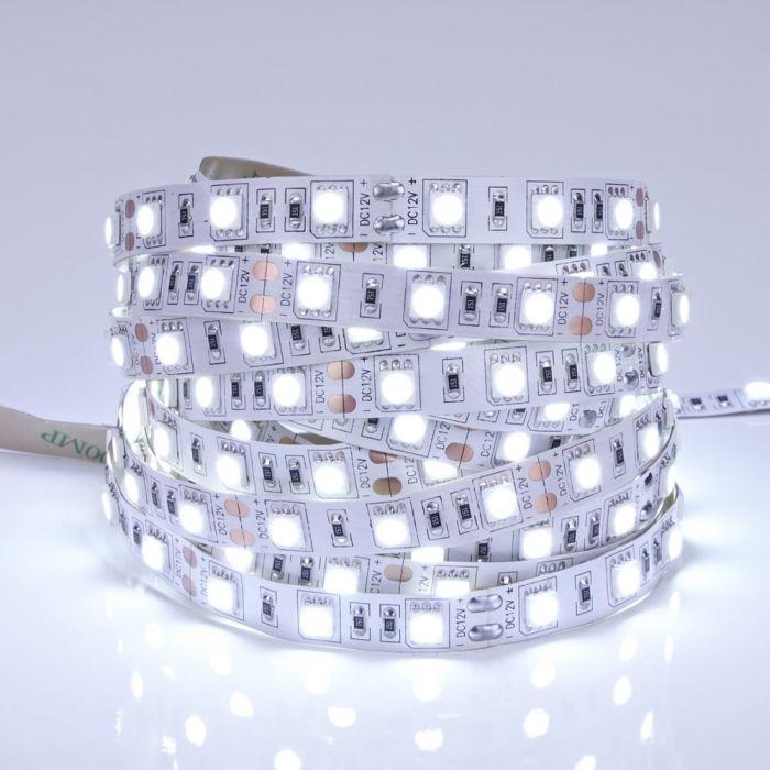 Biard Strisce LED 5 Metri Bianco Ultra Freddo